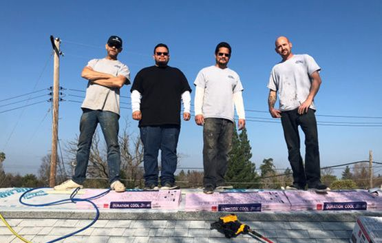Roofing Team